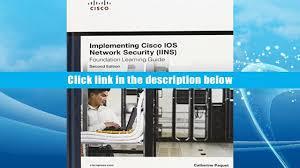 download implementing cisco ios network security iins 640 554