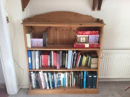sturdy bookcase for heavy books pine bookcase second hand household furniture buy and sell in the