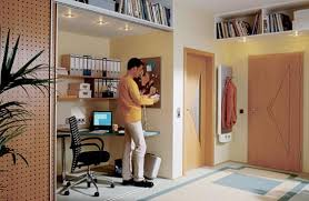 Built In Home Office Designs Maximizing Small Spaces - Closet home office design ideas
