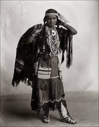 oneida indian woman in traditional clothing native american