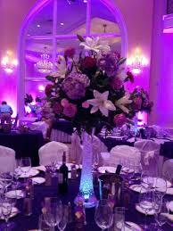 flower centerpieces 37 trendy purple wedding table decorations