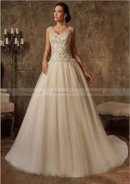 tulle wedding dresses uk wedding dress gown v neck court beaded