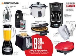 black friday blender sales black u0026 decker appliances only 1 99 waffle maker blender and