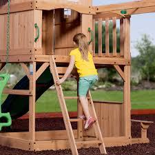 100 backyard discovery monticello cedar swing set aweome
