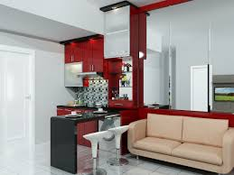 interior of a 30sqm 320sqft 2 bedroom apartment in indonesia