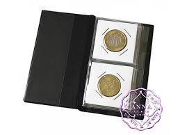 pocket photo album numismatics mini 12 coin holders pocket album