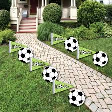 soccer lawn decorations outdoor baby shower or birthday
