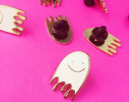 black friday stocking stuffers ghost enamel pin etsy