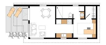 Weekend Cabin Floor Plans Small Contemporary Cottage House Plans House Design Plans
