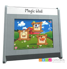 magic wall interactive touch screen for kids