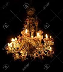 Antique Glass Chandelier Antique Beautiful Chandelier Of Colored Murano Glass Chandelier