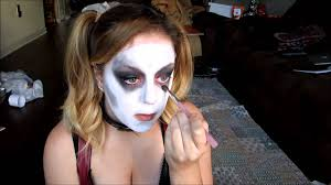 harley quinn arkham city halloween costume harley quinn makeup tutorial arkham city youtube