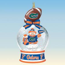 florida gators snow globe ornaments the danbury mint