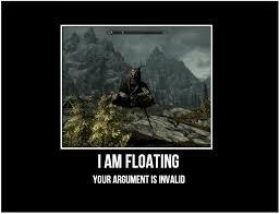 Khajiit Meme - floating khajiit skyrim