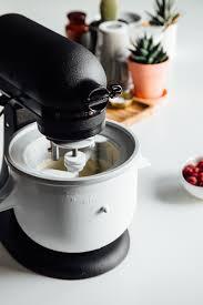 kitchenaid black tie mixer raspberry ripple ice cream the kitchenthusiast