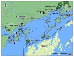 islands map 1000 islands maps 1000 islands kayaking