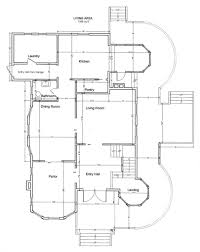victorian house floor plan architectural drawing of a