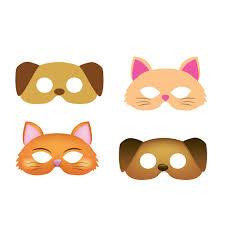 masks for kids dog mask cat mask 2 style masks child mask kids mask