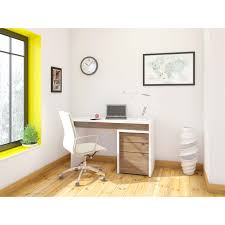 Desk And Filing Cabinet Set Nexera Liber T Computer Desk With Filing Cabinet White And