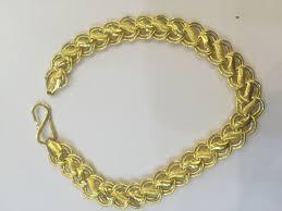gold bracelet chain designs images 22karat certified solid yellow gold dubai rare design unisex chain jpg