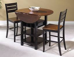 3 piece dining room set amazon com sunset trading 3 piece quincy drop leaf pub table set
