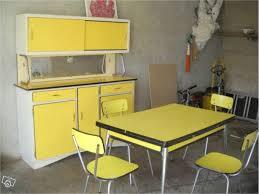 cuisine vintage jaune formica vintage table mid