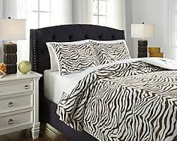 Zebra Print Single Duvet Set Duvet Covers Ashley Furniture Homestore