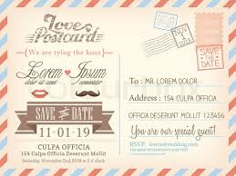 Free Wedding Samples By Mail Enchanting Postcard Wedding Invitations Template Free 67 On Free