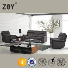 Genuine Leather Reclining Sofa Genuine Leather 5 Seater Recliner Sofa Set Furniture Arm Covers