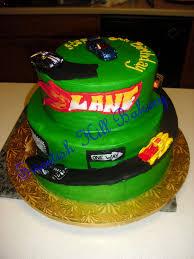 wheels birthday cake custom design stacked cake to ser u2026 flickr