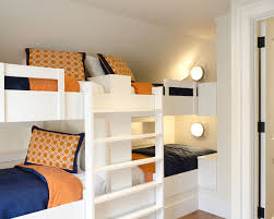 Bunk Bed Bedroom Ideas Bedroom Cool Amazing Built In Bunk Beds Sugar And Charm Sweet