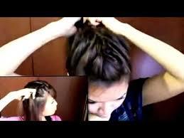 download tutorial rambut ke pesta cara mengikat rambut panjang simple mudah cantik youtube