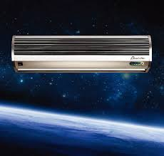 Air Curtains For Overhead Doors Aluminum Silver Residential Overhead Door Air Curtains With