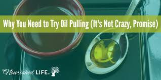 Oil Pulling Before Bed You Need To Try Oil Pulling It U0027s Not Crazy Promise