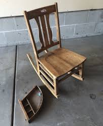 furniture home rocking chair with sewing drawer collectors weekly