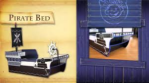 pirate boat theme bedroom furniture set for kids children bed