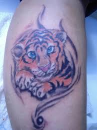 57 cute baby tiger tattoos ideas