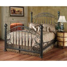 furniture dark brown carved wooden canopy bed frame added extra
