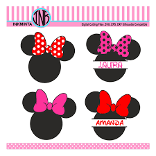minnie mouse monogram minnie monogram svg minnie mouse svgmonogram svg monogram