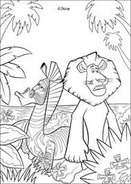 color alex 2 free madagascar coloring page for kids