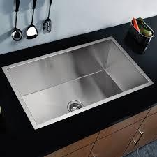 DCOR Design Brier Single Bowl Kitchen Sink  Reviews Wayfair - Bowl kitchen sink