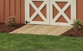 How To Build A Wooden Shed Ramp by Step 5 Maximize Your Space With Shed Accessories Byler Barns