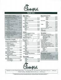 fil a menu irvine dineries