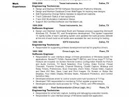 system test engineer cover letter sample resume for biomedical