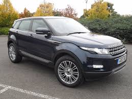 dark blue range rover used land rover range rover evoque blue for sale motors co uk