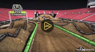 las vegas motocross race motoxaddicts 2015 monster energy cup animated track map las vegas
