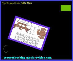 Free Woodworking Plans Hexagon Picnic Table by Octagon Picnic Table Plans And Drawings 165553 Woodworking Plans