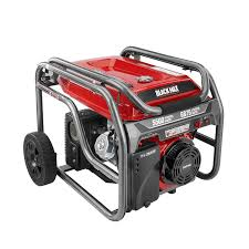 best black friday generator deals black max 5 500 watt portable gas generator 399 with free