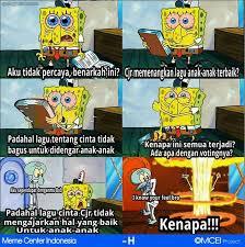 Meme Komik Spongebob - nya dong buat spongebob