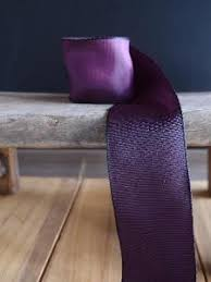 eggplant ribbon wholesale two tone gift ribbon